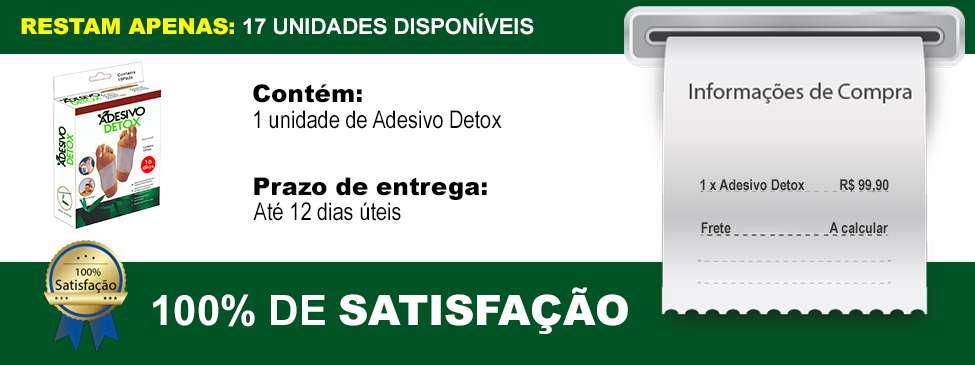 Adesivo Detox