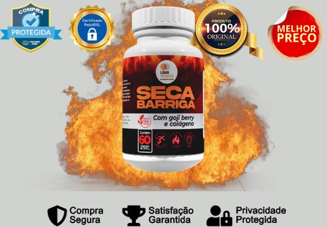 Seca Barriga Caps - Emagrecedor 100% natural