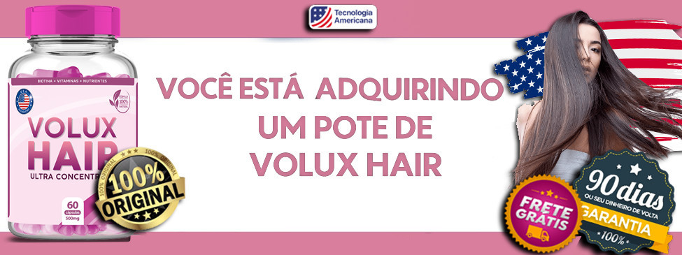 Volux Hair - 60 Cápsulas