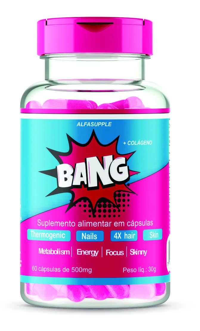 Bang! Emagrecedor, fortalecedor de cabelo, pele e unhas