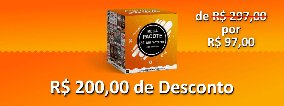 Mega Pacote 62 Mil Vetores 100% para Illustrator