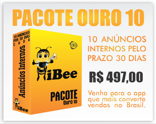 Pacote iBee Ouro 10