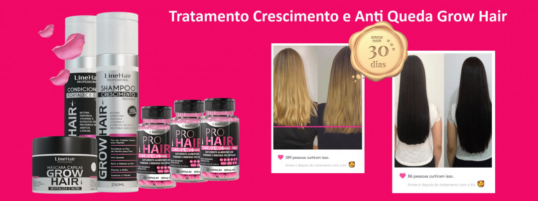 Grow Hair Tratamento